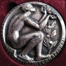 Trofeos y medallas: SILVESTRE DE EDETA. PLATA.FERIA MUESTRARIO INTERNACIONAL,BODAS ORO.50 ANIVERSARIO.1972. VALENCIA. Lote 200142107