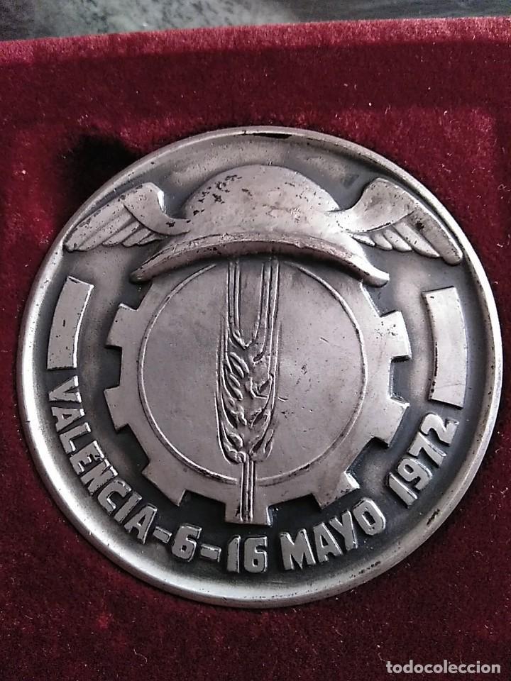Trofeos y medallas: SILVESTRE DE EDETA. .FERIA MUESTRARIO INTERNACIONAL,BODAS ORO.50 ANIVERSARIO.1972. VALENCIA - Foto 2 - 200142107
