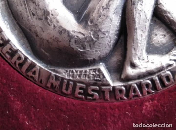 Trofeos y medallas: SILVESTRE DE EDETA. .FERIA MUESTRARIO INTERNACIONAL,BODAS ORO.50 ANIVERSARIO.1972. VALENCIA - Foto 4 - 200142107