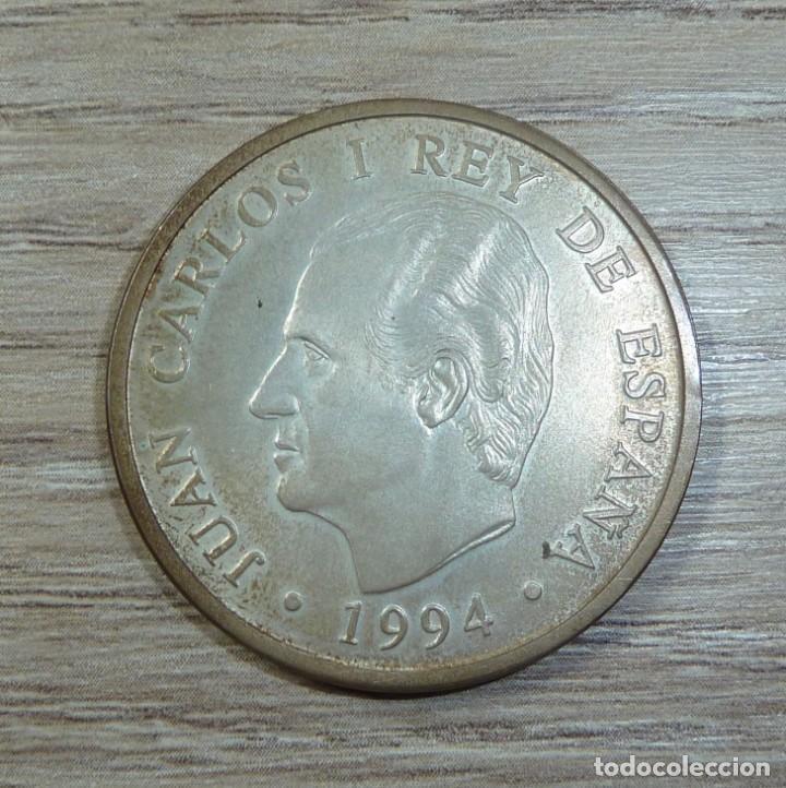 MONEDA ESPAÑA 2000 PESETAS 1994 ASAMBLEA FMI-BM PLATA 925 (18GR) (Numismática - Medallería - Trofeos y Conmemorativas)