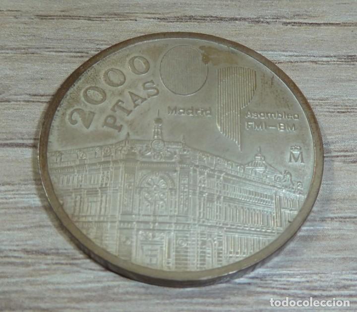 Trofeos y medallas: MONEDA ESPAÑA 2000 PESETAS 1994 ASAMBLEA FMI-BM plata 925 (18gr) - Foto 2 - 200190223