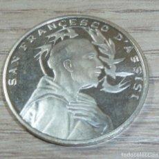 Trofeos y medallas: MEDALLA ITALIA SAN FRANCISCO DE ASIS. Lote 200190232