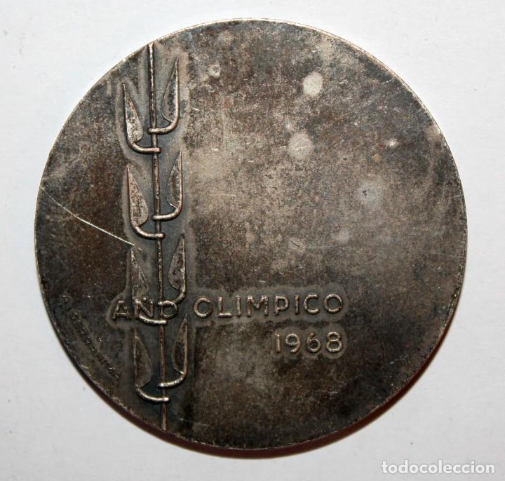 Trofeos y medallas: MEDALLA CONMEMORATIVA XVII PLENO DEL CONSEJO NACIONAL DE EDUCACION FISICA. FIRMADO A. SERRAHIMA - Foto 2 - 200518312