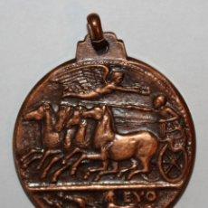 Trofeos y medallas: MEDALLA CONMEMORATIVA I CERTAMEN NUMISMATICO ALUMNOS ESCUELAS PIAS. SABADELL (1972). BRONCE. Lote 200556978