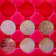 Trofeos y medallas: LOTE DE 10 MEDALLAS - NOTRE DAME DE LOURDES. Lote 202355426