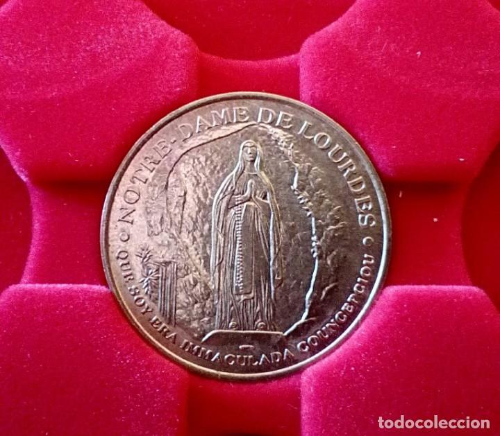 Trofeos y medallas: LOTE DE 10 MEDALLAS - NOTRE DAME DE LOURDES - Foto 2 - 202355426