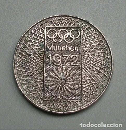 MEDALLA CONMEMORATIVA DE LAS OLIMPIADAS DE MÚNICH 1972 - MÜNCHEN 72 (Numismática - Medallería - Trofeos y Conmemorativas)