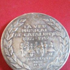 Trofeos y medallas: ENRIC MORERA LA.VEU MUSICAL DE CATALUNYA 1972. Lote 205081686