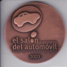 Trofeos y medallas: MEDALLA DEL SALON INTERNACIONAL DEL AUTOMOVIL DE BARCELONA DEL AÑO 2003 - DIAMETRO 6 CM. Lote 205270146
