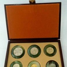 Trofeos y medallas: COLECCIÓN DE MONEDAS DE ESPAÑA CONMEMORATIVAS DEL MUNDIAL '82. Lote 205345301