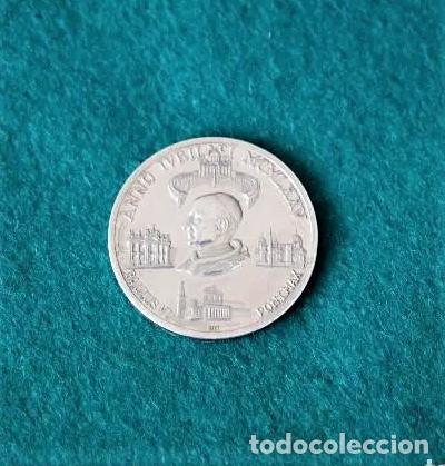 MEDALLA DE PLATA JUBILEO 1975 (Numismática - Medallería - Trofeos y Conmemorativas)