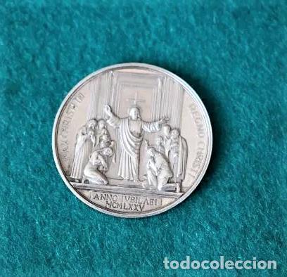 Trofeos y medallas: MEDALLA DE PLATA JUBILEO 1975 - Foto 2 - 96357043