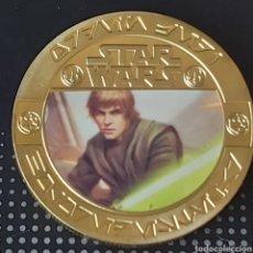 Trofeos y medallas: EXCLUSIVA MONEDA DE ORO DE COLECCION DE STAR WARS - COLECCIÓN COMPUESTA POR 5 MONEDAS -. Lote 261896350