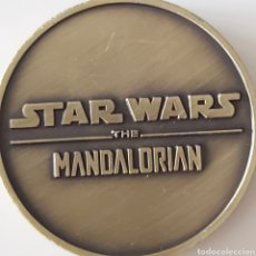 """Trofeos y medallas: ESPECTACULAR MONEDA DE STAR WARS """" THE MANDALORIAN"""". Lote 245783840"""