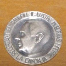 Trofeos y medallas: MEDALLA RECORDANT EL SEU FILL M.BORRAS I FERRÉ LA CANONJA. EXPOSICIÓN FILATELIA 1986. Lote 208064666