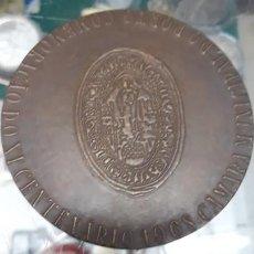Trofeos y medallas: GRAN MEDALLA BRONCE.PORTUGAL COMEMORACAO DO XI CENTENARIO 1968 CAMARA MUNICIPAL DO PORTO (AÑO 906). Lote 208857966