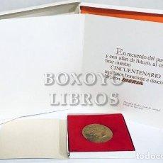 Trofeos y medallas: MEDALLA 50 ANIVERSARIO 1927-1977 DE IBERIA. Lote 210021478