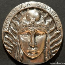 Trofeos y medallas: MEDALLA CONMEMORATIVA REPUBLICA ESPAÑOLA 2009 DESCENDIENTES EXILIO ESPAÑOL. Lote 210246041