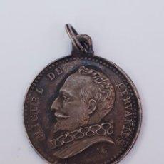 Trofeos y medallas: MEDALLA CERVANTES. ESCUELAS NACIONALES DEL INSTITUTO CERVANTES. Lote 210690475
