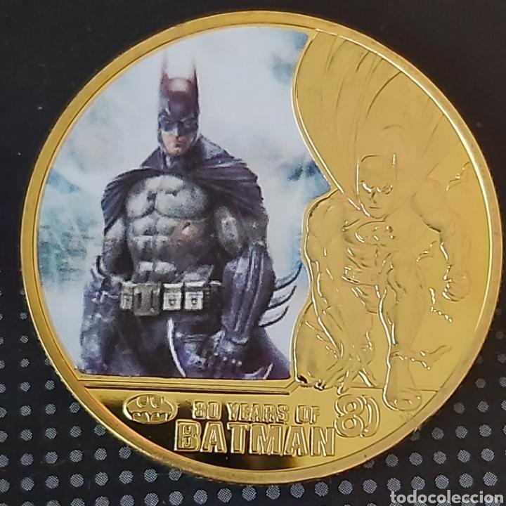 FANTASTICA MONEDA DE ORO DE COLECCIÓN DE BATMAN (MODELO 1) (Numismática - Medallería - Trofeos y Conmemorativas)