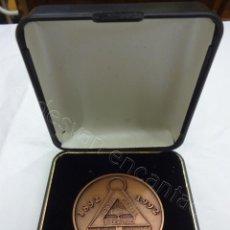 Trofeos y medallas: COOPERATIVA OBRERA LA LEALTAD. MEDALLA COMEMORATIVA. 1892-1992. Lote 211792098