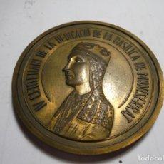 Trofeos y medallas: MAGNIFICA MEDALLA ANTIGUA IV CENTENARI DE LA DEDICACIO DE LA BASILICA DE MONTSERRAT 1592-1992. Lote 212010495