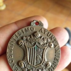 Trofeos y medallas: MEDALLA EXCELENTISIMO AYUNTAMIENTO MATARO. Lote 212250667
