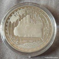 Trofeos y medallas: MONEDA CONMEMORATIVA TITANIC. Lote 212279788