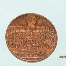 Trofeos y medallas: ANTIGUA MEDALLA DEL IV ANIVERSARIO DE LA FUNDACIÓN NACIONAL FRANCISCO FRANCO 20-XI-1979. Lote 212387085