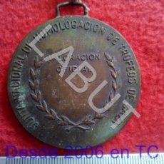 Trofeos y medallas: VALORACIÓN OFICIAL 168,56 EL ÁGUILA 1993 MEDALLA CAZA CINEGÉTICA CJ1. Lote 213326610