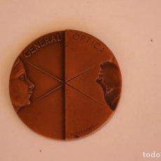 Trofeos y medallas: SUBIRACHS - MEDALLA CONMEMORATIVA, GENERAL OPTICA. 6 CENTIMETROS DE DIAMETRO.. Lote 213698368