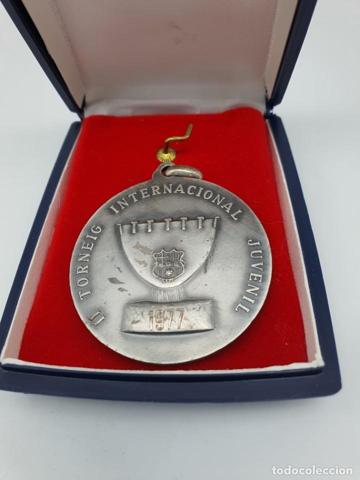 Trofeos y medallas: MEDALLA TORNEO INTERNACIONAL JUVENIL ( 1977 ) - Foto 2 - 213772655