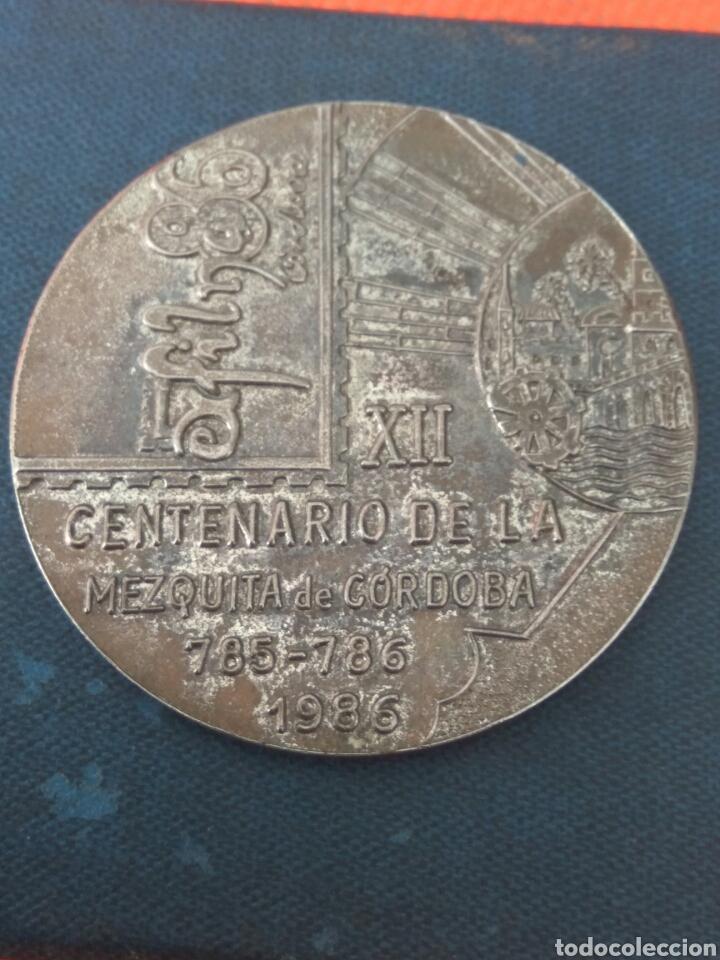 Trofeos y medallas: MEDALLA XII CENTENARIO MEZQUITA CORDOBA - Foto 3 - 214002962
