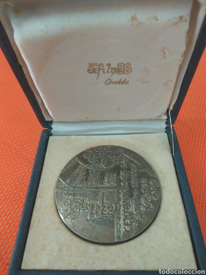 MEDALLA XII CENTENARIO MEZQUITA CORDOBA (Numismática - Medallería - Trofeos y Conmemorativas)