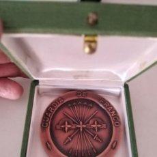 Trofeos y medallas: MEDALLA CAMPEÓN FÚTBOL 1970 SEVILLA GUARDIA DE FRANCO.. Lote 214428250