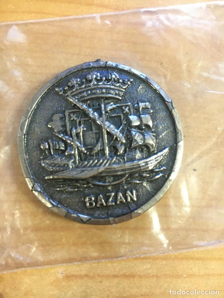 MEDALLA CONMEMORATIVA EMPRESA NACIONAL BAZAN - CTG- (Numismática - Medallería - Trofeos y Conmemorativas)