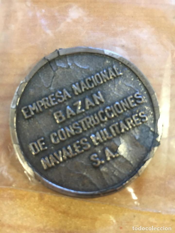 Trofeos y medallas: MEDALLA CONMEMORATIVA EMPRESA NACIONAL BAZAN - CTG- - Foto 2 - 214551670