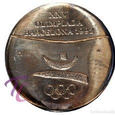 Trofeos y medallas: MEDALLA FNMT OLIMPIADAS 1992 BARCELONA 92 VOLUNTARIOS. Lote 92311875