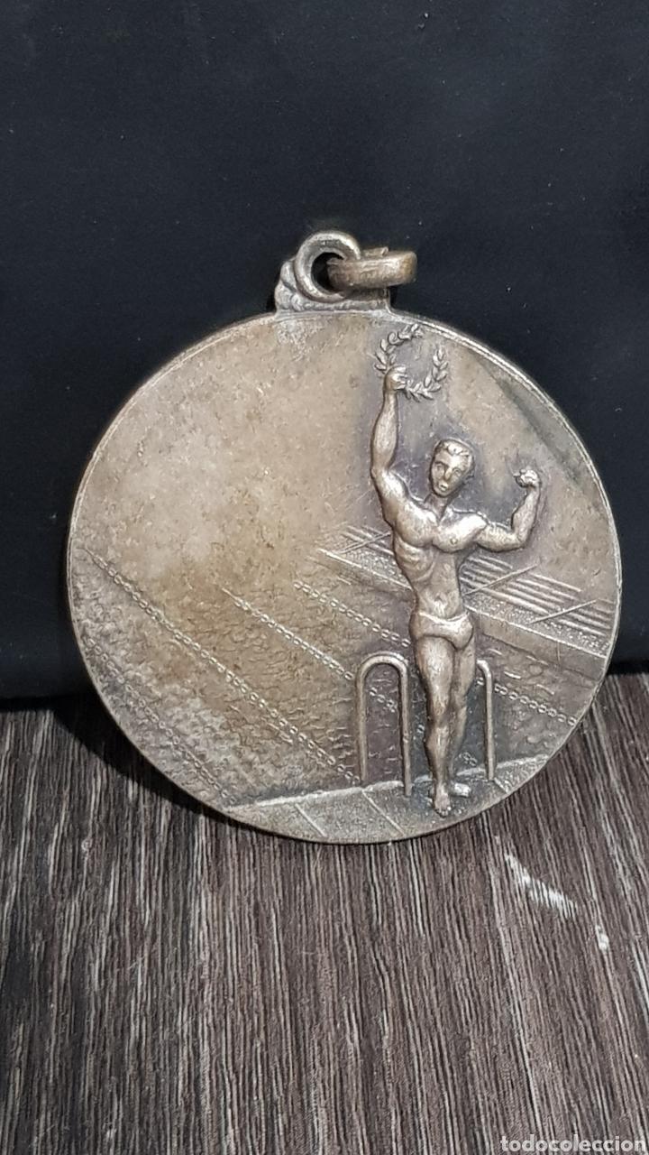 MEDALLA ANTIGUA COLEGIO LA INMACULADA LLINÁS 1967 (Numismática - Medallería - Trofeos y Conmemorativas)