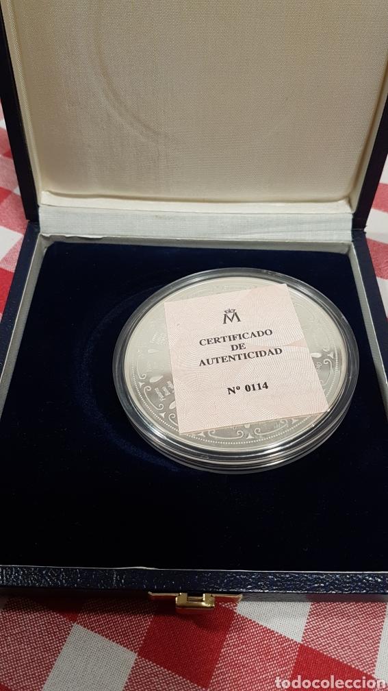 Trofeos y medallas: Medalla commemorativa MEFF PLATA - Foto 4 - 222004317