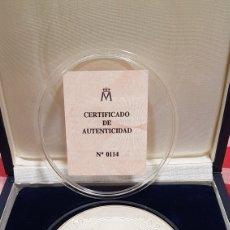 Trofeos y medallas: MEDALLA COMMEMORATIVA MEFF PLATA. Lote 222004317