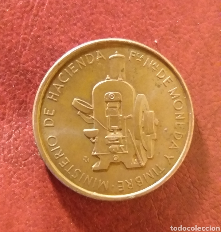 Trofeos y medallas: Moneda conmemorativa Juvenalia año 1982 - Foto 2 - 222087857
