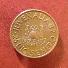 Trofeos y medallas: MONEDA CONMEMORATIVA JUVENALIA AÑO 1982. Lote 222087857