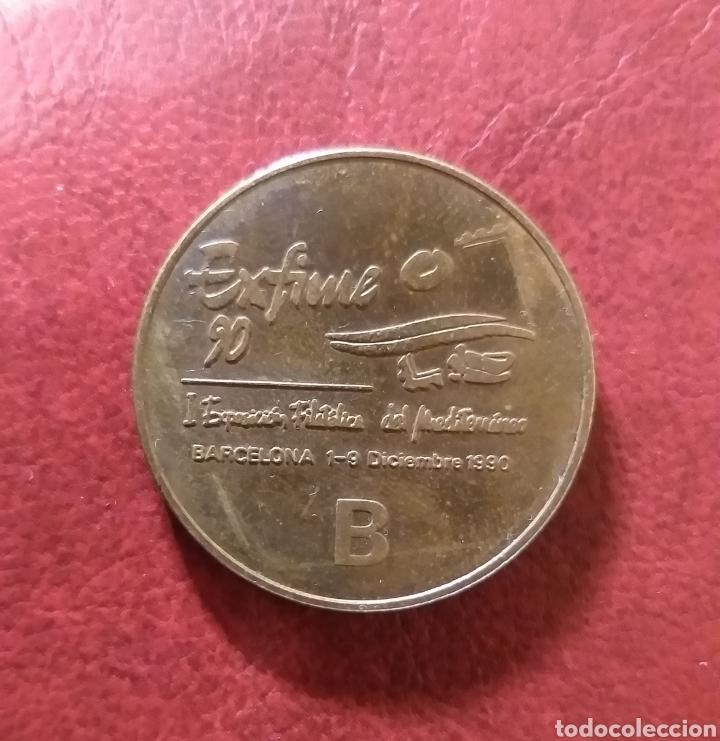 MEDALLA EXFIME 90 (Numismática - Medallería - Trofeos y Conmemorativas)
