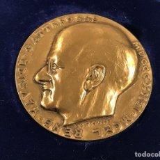 Trofeos y medallas: RENE MAURICE GATTEFOSSE MEDALLA EN BRONCE, MEDICINA.. Lote 222485540