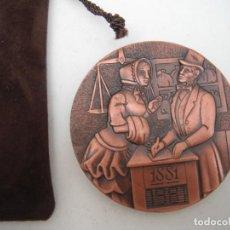 Trofeos y medallas: MEDALLA . BANCO DE SABADELL. CONMEMORACION DEL CENTENARIO. 1881-1081.. Lote 224034163