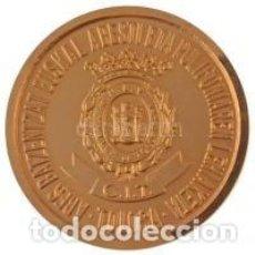 Trofeos y medallas: 1983 MEDALLA BAÑADA EN ORO CONCURSO DE POLIFONIA DE CANCION VASCA - TOLOSA. Lote 227860370