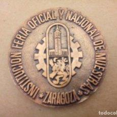 Trofeos y medallas: MEDALLA EXPO ARAGÓN 85. Lote 234303705