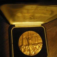 Trofeos y medallas: GRAN MEDALLON DE BRONCE REGIONE DELL'UMBRIA. Lote 37428694