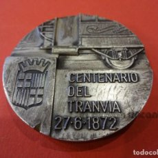 Trofeos y medallas: CENTENARIO DEL TRANVIA. MEDALLA CONMEMORATIVA. BARCELONA 1972. Lote 234483275